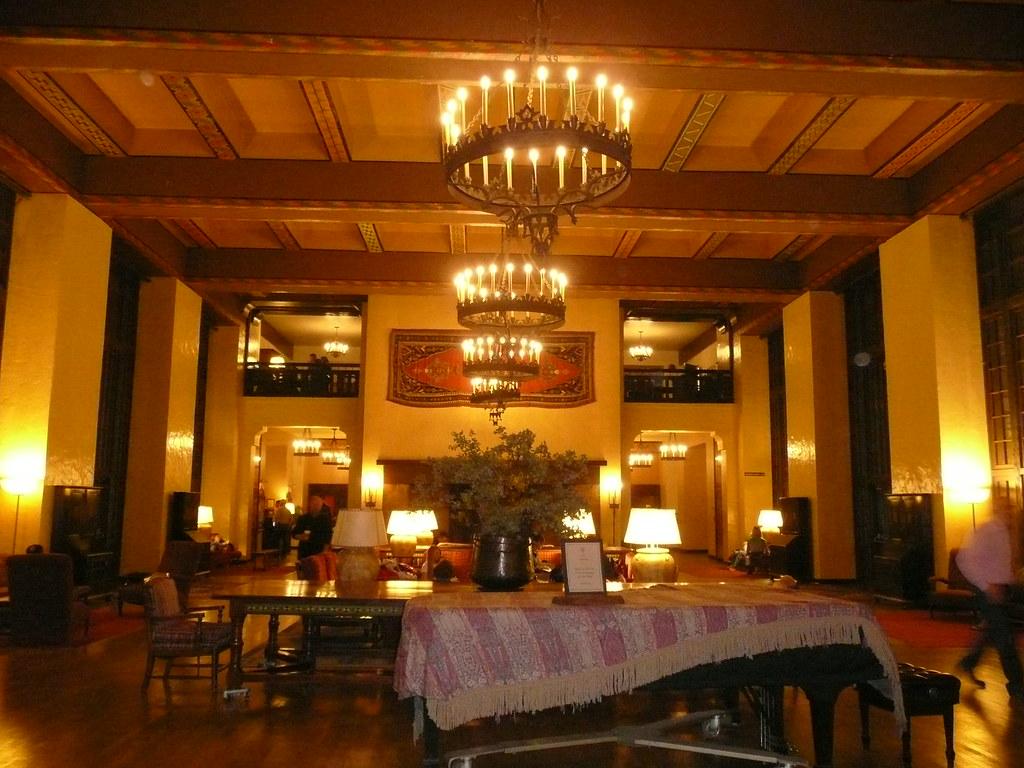 Interior of Ahwahnee Hotel  celestial creations  Flickr