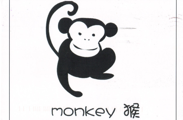 Chinese Year of the Monkey Postcard