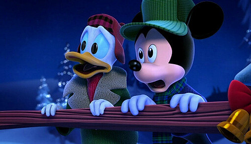 Mickeys Twice Upon A Christmas.Mickey S Twice Upon A Christmas Five Christmas Adventures