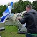 Camping, Birchover, Derbyshire, England