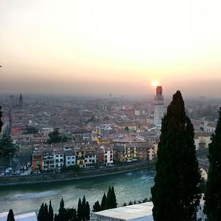 Verona da Castel San Pietro.