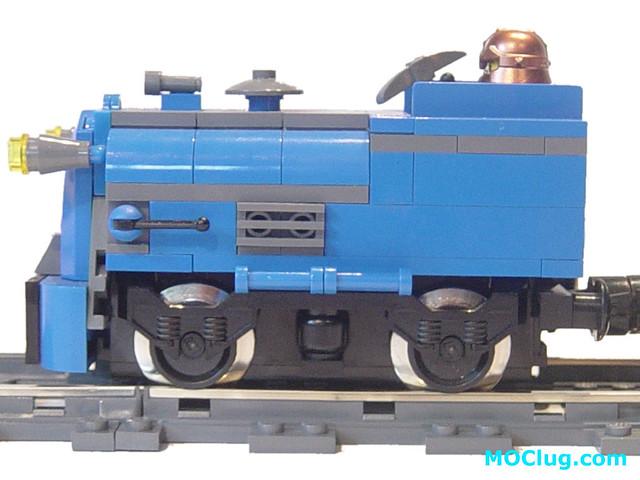 LEGO MOC - Dwarf Mining Train - Locomotive   MOClug   Flickr