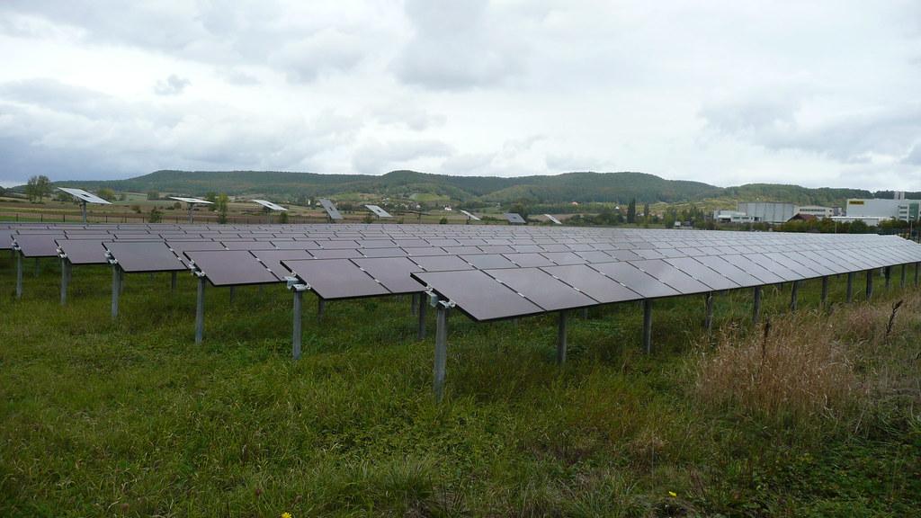 Solar panels in Koenigsberg