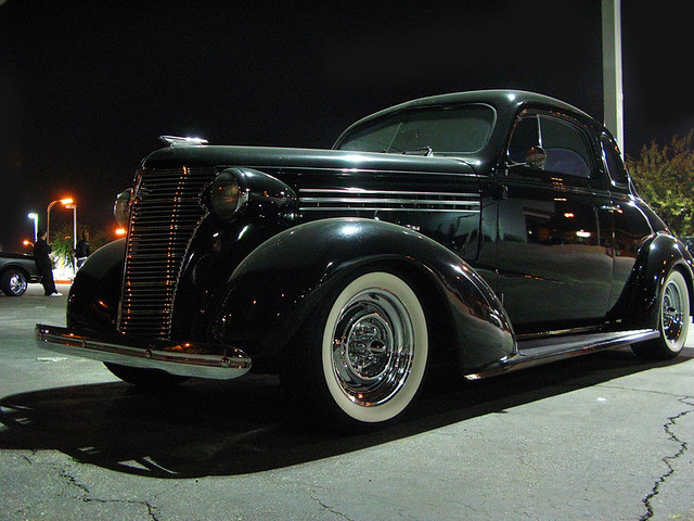 1938 Chevy Deluxe Coupe | A cool 38 Chevy Deluxe Coupe at th… | Flickr