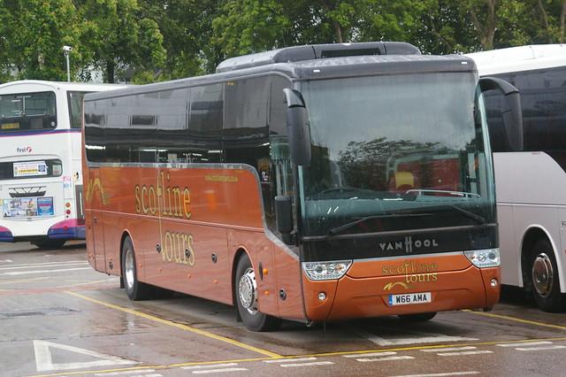 AUSTIN TRAVEL EARLSTON, SCOTLINE TOURS W66AMA