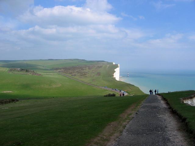 Approaching Beachy Head