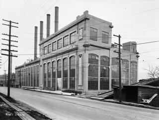Lake Union steam plant, 1921