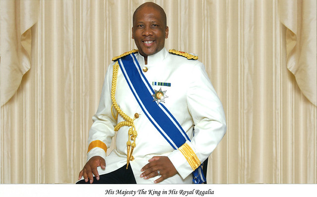 Image result for lesotho king letsie III