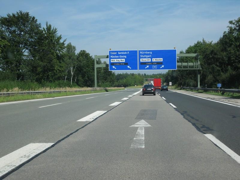 Staumeldung A8 Salzburg München