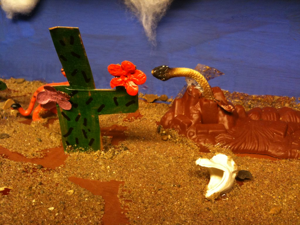 Desert Diorama | CJ Sorg | Flickr