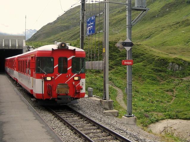 Matterhorn Gotthard Bahn Oberalppass