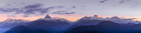 nepal pokhara sarangkot annapurna annapurnamassif mountainrange panorama mountain sunrise sky cloud dawn canoneos7d canonefs18135mmf3556is