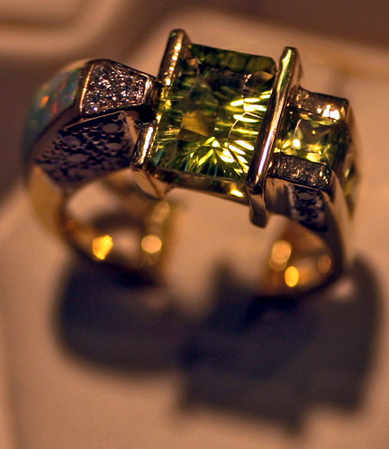 Art-carved Peridot Ring   by cobalt123
