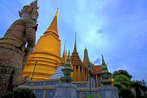 Temple at the Grand Palace Bangkok | by Geee Kay