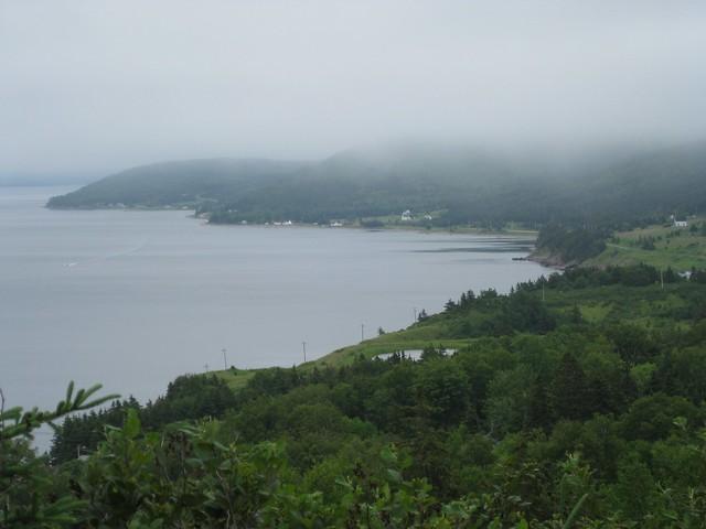 Scenic View along Bras d'Or Lake, Cape Breton