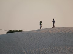 On top of a dune