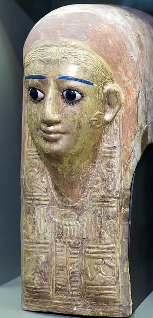 Mummy mask (Allard Pierson museum Amsterdam)