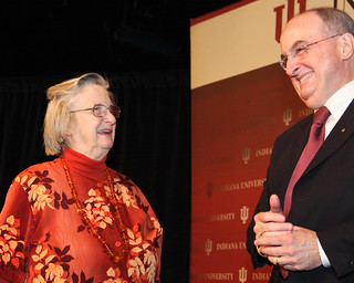 2009 Nobel economics laureate Elinor Ostrom | by aschweigert