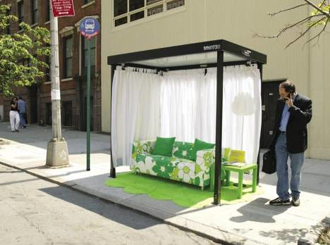 Image result for ikea guerrilla marketing bus stops