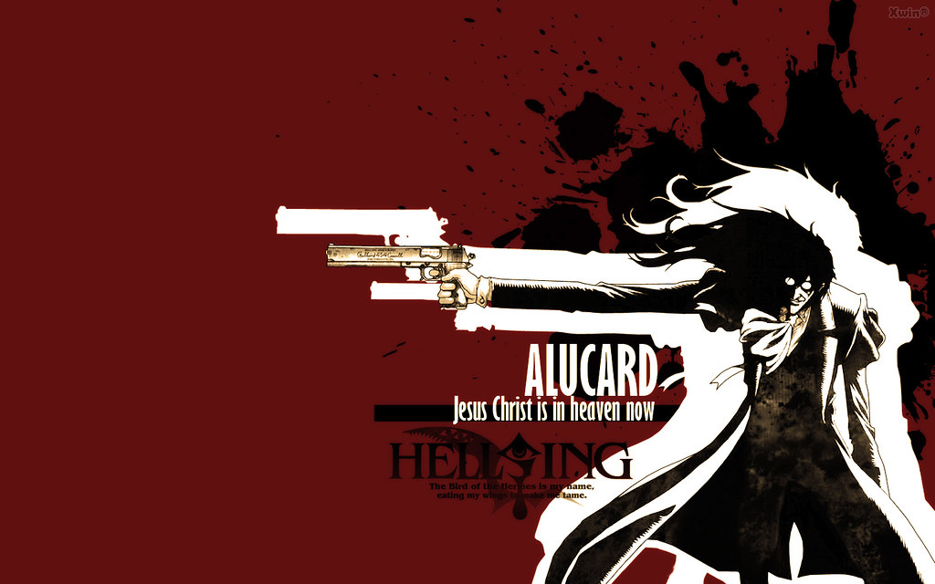 Wall Hellsing 03 Anime Hellsing Alucard Edwin Guarniz Flickr