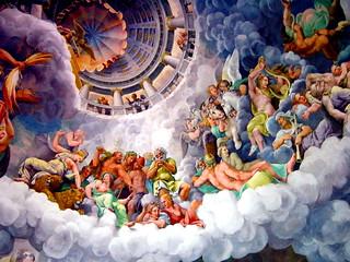 2003-08-27 08-28 Mantova 270 Palazzo del Te, Giulio Romano, Fall der Giganten