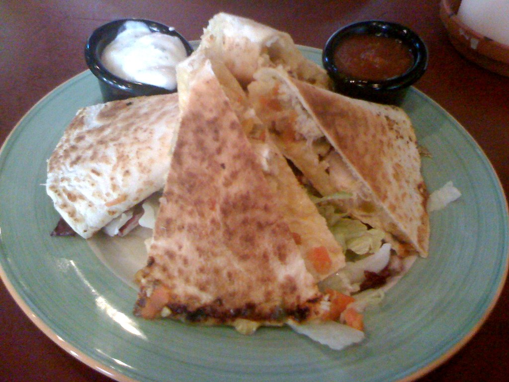 Quesadillas classicas | @ Tacos *** Maybe a bit too much