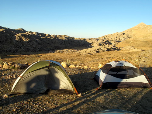 Our tents on Nemrut Dagi