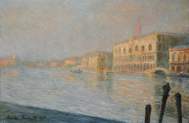 Claude Monet 1908 in Venice - W 1770 - The Doges' Palace
