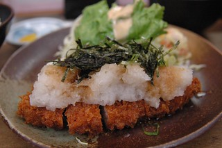 """Mizore Tonkatsu""(pork cutlet) at Okuda | by is_kyoto_jp"