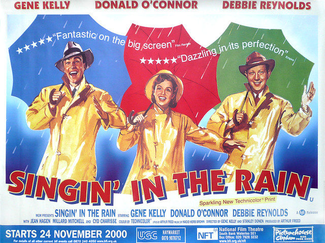 Singing In The Rain Re-Issue Poster | Janis Morton | Flickr