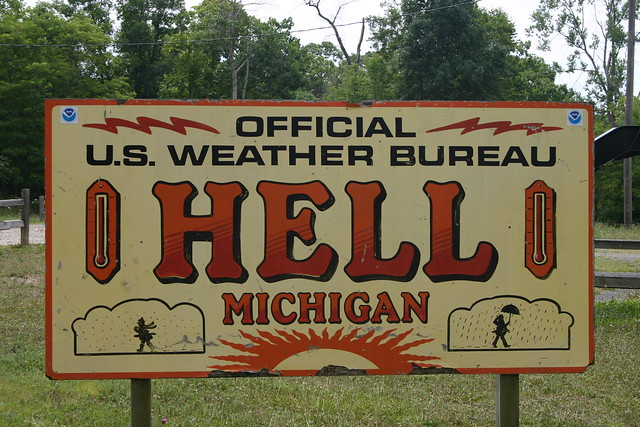 Sign from Hell