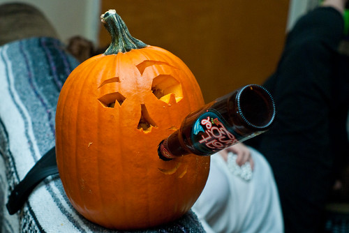 Drinking Pumpkin | by anaxolotl