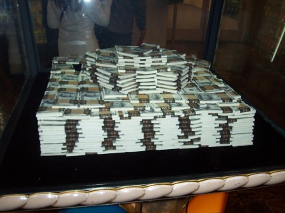 1million dollars cash | This pile of money can be found in L