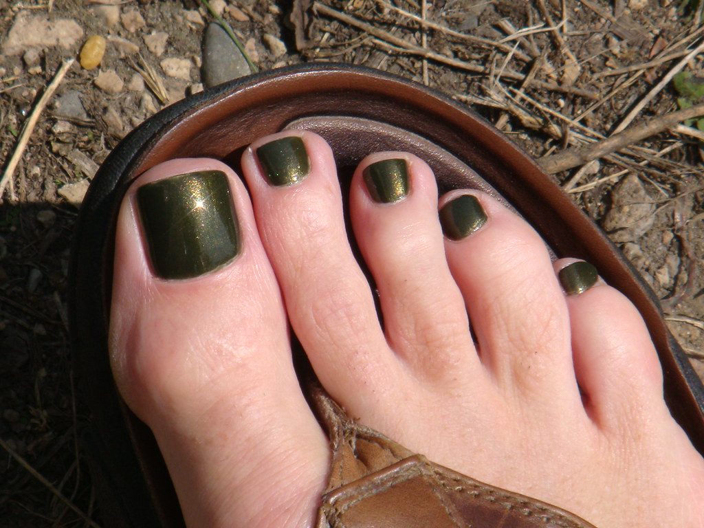 Grenade! A military green nail polish - for men! | This late… | Flickr