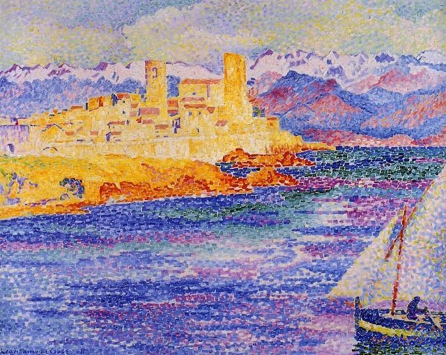 Henri Edmond Cross - Antibes 1908 - Grenoble, Musée