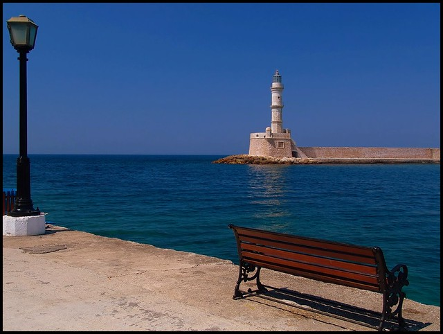 Harbour in Blue