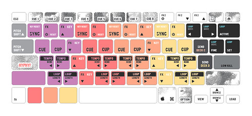 Traktor keyboard mapping tsi