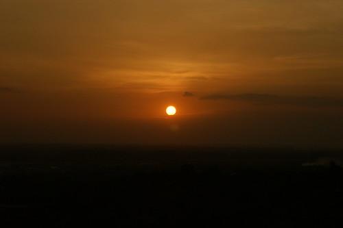 sunset sky sun sony rr alpha chennai stthomasmount a350