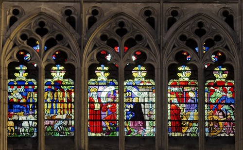 Troyes Cathedral - Story of Joseph Triforium Window - Pharaoh's Dream | by Stan Parry