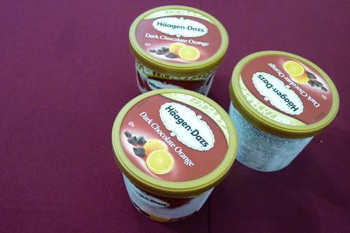 Haagen Dazs Dark Chocolate Orange flavor | by karlaredor