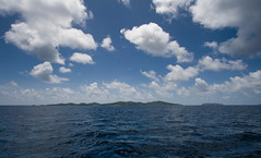 Mustique from a Distance