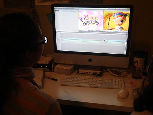 Gwyn Emma remixing video2 | by Reel Grrls