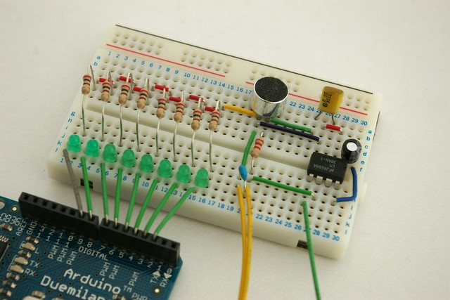 Audio Level Meter with Arduino | arms22 blog91 fc2 com/blog-… | Flickr