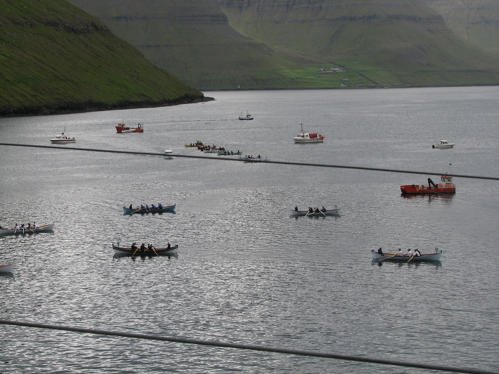 Rawing competition | Faroe's national sport - rawing. And he… | Flickr