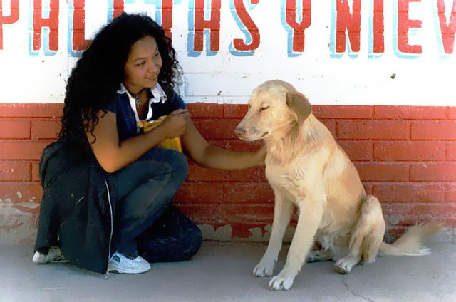 Celia with Dog, Mexico (2009)