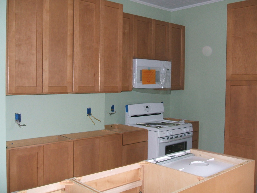Kitchen Cabinets And Appliances Installed Angela