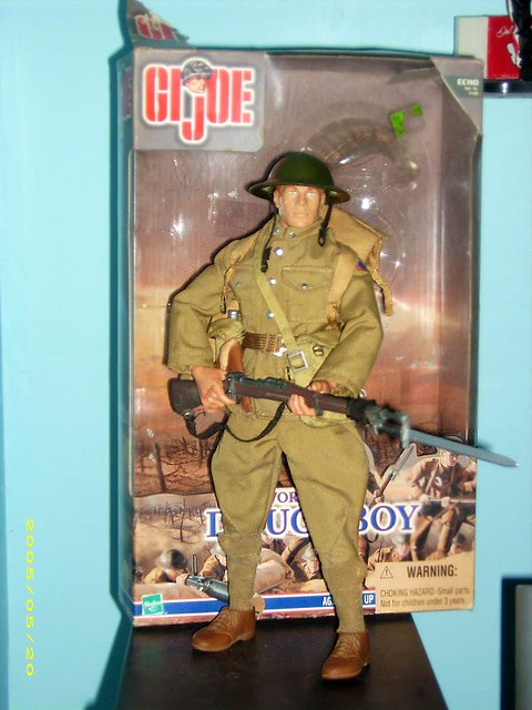 World War I Doughboy   Gi joe wwi doughboy   Danny Kinsella