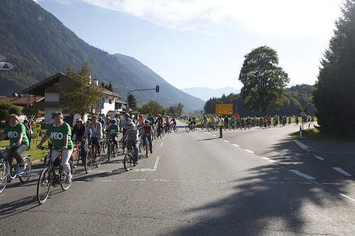 VEO Protest-Radeltour 2009 | by Oberau-Online