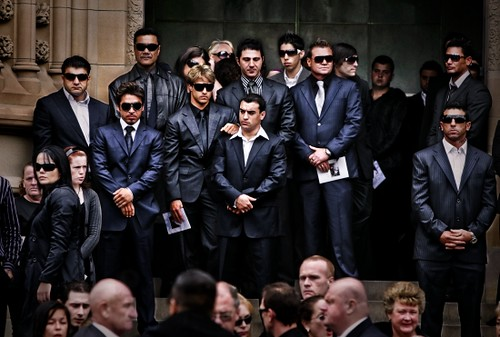 Craig Greenhill - Underworld Funeral | Press Photographer of