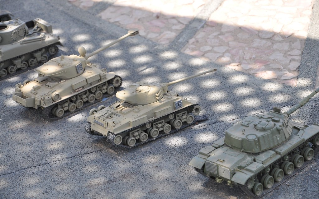 Mini Tanks | Miniature model in Mini-Israel Park - Latroun